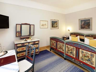 bedroom 8 - hotel hirsch - fussen, germany