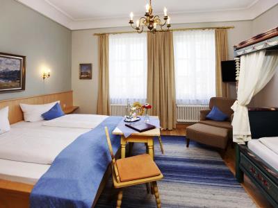 bedroom 17 - hotel hirsch - fussen, germany