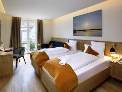 bedroom 3 - hotel hirsch - fussen, germany