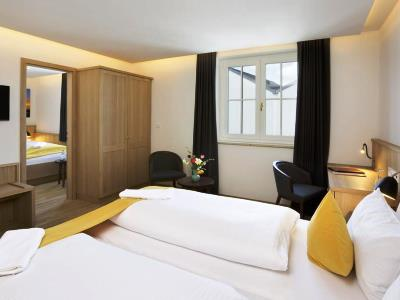 bedroom 4 - hotel hirsch - fussen, germany