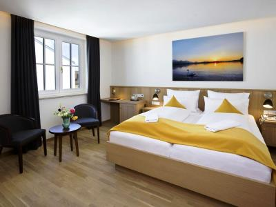 bedroom 5 - hotel hirsch - fussen, germany