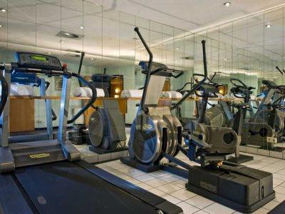 gym - hotel wyndham hannover atrium - hanover, germany