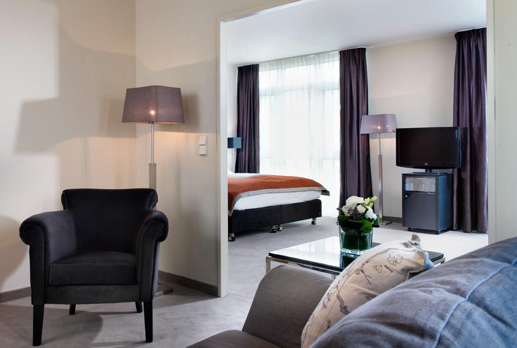 junior suite - hotel wyndham hannover atrium - hanover, germany