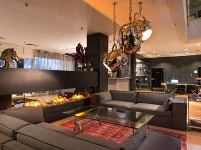 lobby 1 - hotel wyndham hannover atrium - hanover, germany