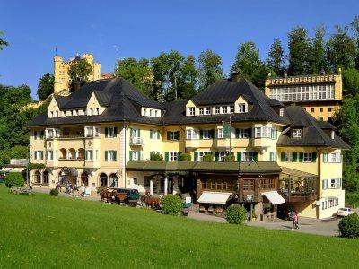 exterior view - hotel mueller - hohenschwangau, germany
