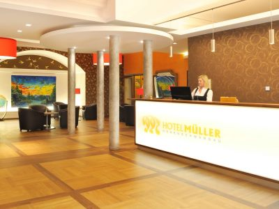 lobby - hotel mueller - hohenschwangau, germany