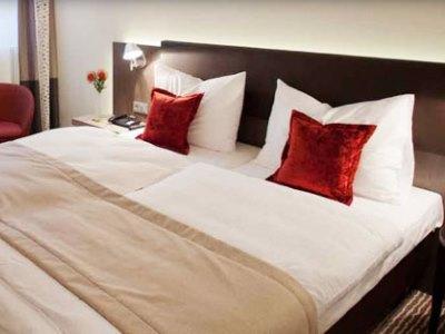 bedroom - hotel bigbox allgaeu - kempten, germany