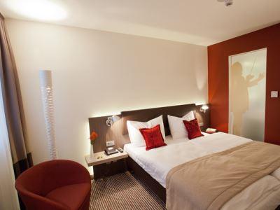 bedroom 2 - hotel bigbox allgaeu - kempten, germany