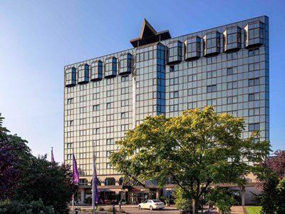 exterior view - hotel mercure koblenz - koblenz, germany
