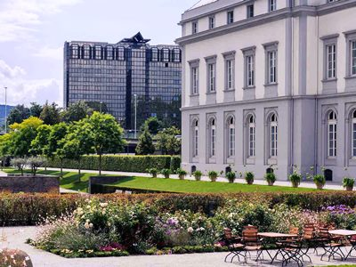 exterior view 1 - hotel mercure koblenz - koblenz, germany