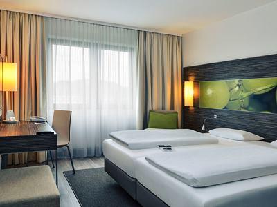 bedroom - hotel mercure koblenz - koblenz, germany