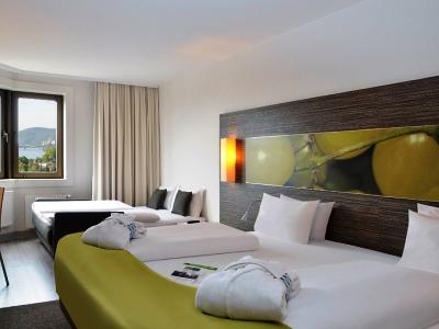 bedroom 1 - hotel mercure koblenz - koblenz, germany