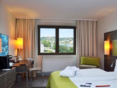 bedroom 2 - hotel mercure koblenz - koblenz, germany