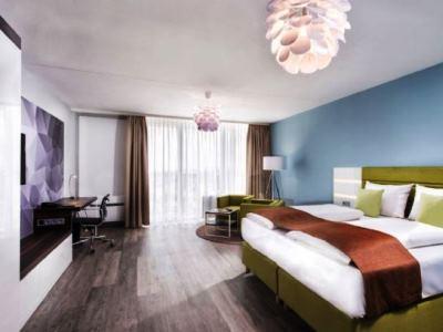 bedroom - hotel best western hotel frankfurt airport - neu-isenburg, germany