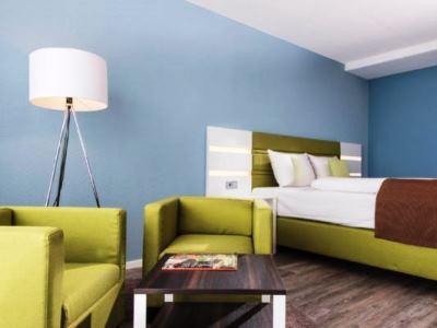 bedroom 1 - hotel best western hotel frankfurt airport - neu-isenburg, germany