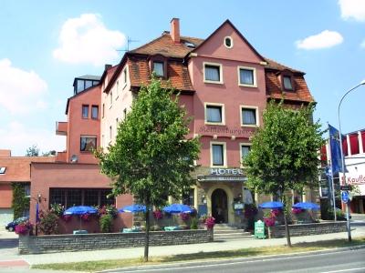 exterior view - hotel rothenburger hof - rothenburg, germany