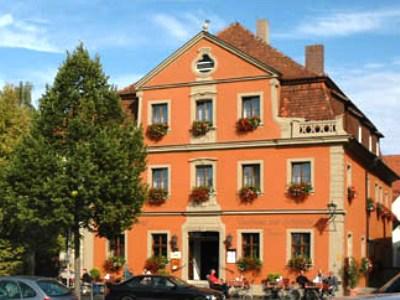 exterior view - hotel schranne - rothenburg, germany