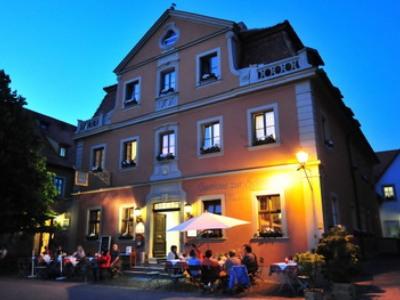 exterior view 1 - hotel schranne - rothenburg, germany