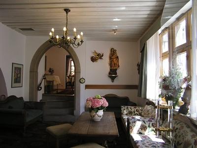 lobby - hotel tilman riemenschneider - rothenburg, germany