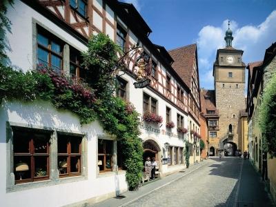 exterior view - hotel tilman riemenschneider - rothenburg, germany