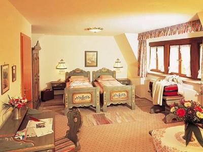 bedroom - hotel tilman riemenschneider - rothenburg, germany