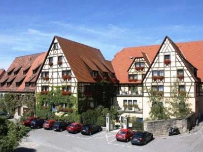 exterior view - hotel prinzhotel - rothenburg, germany
