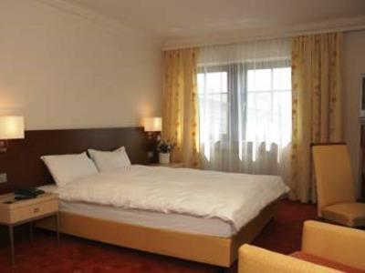 bedroom - hotel prinzhotel - rothenburg, germany