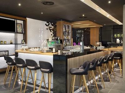 bar - hotel holiday inn stuttgart - stuttgart, germany