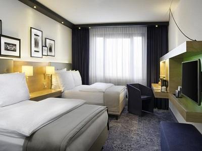 bedroom 1 - hotel holiday inn stuttgart - stuttgart, germany