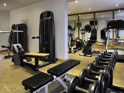 gym - hotel holiday inn stuttgart - stuttgart, germany