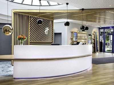lobby - hotel holiday inn stuttgart - stuttgart, germany