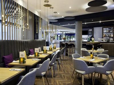 restaurant - hotel holiday inn stuttgart - stuttgart, germany