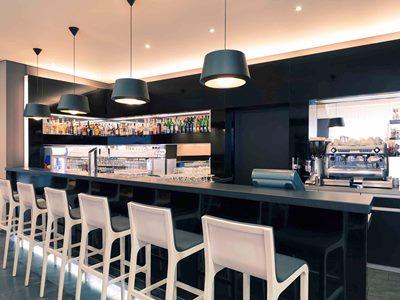 bar - hotel mercure stuttgart city center - stuttgart, germany