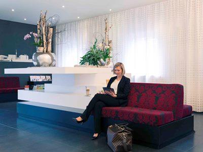 lobby 1 - hotel mercure stuttgart city center - stuttgart, germany