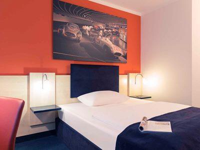 bedroom - hotel mercure stuttgart city center - stuttgart, germany