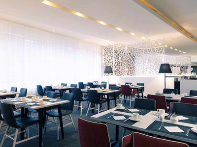 breakfast room 2 - hotel mercure stuttgart city center - stuttgart, germany