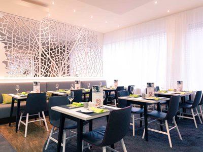 breakfast room 1 - hotel mercure stuttgart city center - stuttgart, germany