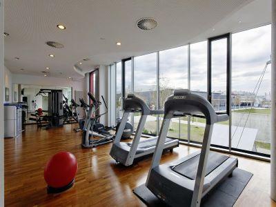 gym - hotel hilton garden inn stuttgart neckarpark - stuttgart, germany