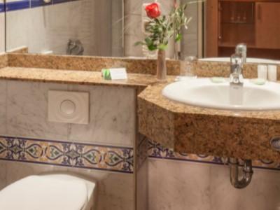 bathroom - hotel plaza kongresshotel europe - stuttgart, germany