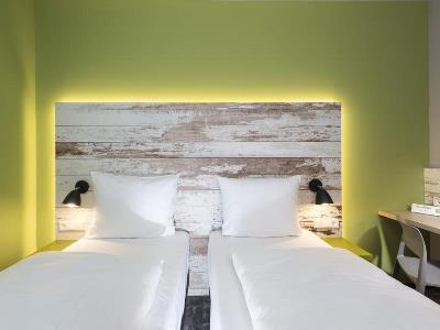 bedroom - hotel ibis styles stuttgart - stuttgart, germany