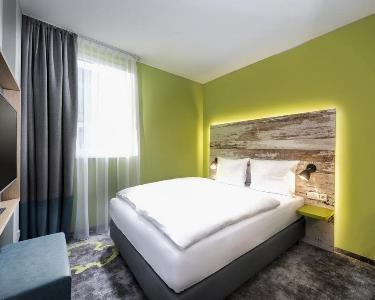 bedroom 2 - hotel ibis styles stuttgart - stuttgart, germany