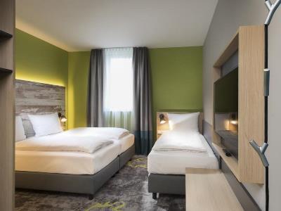 bedroom 3 - hotel ibis styles stuttgart - stuttgart, germany