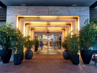 exterior view - hotel wyndham airport messe - stuttgart, germany
