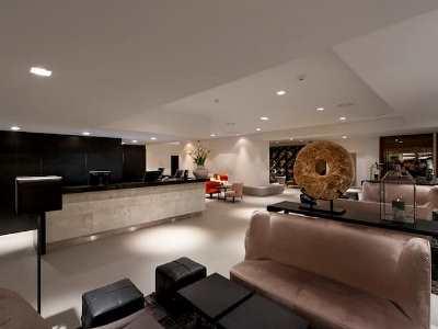 lobby 1 - hotel wyndham airport messe - stuttgart, germany