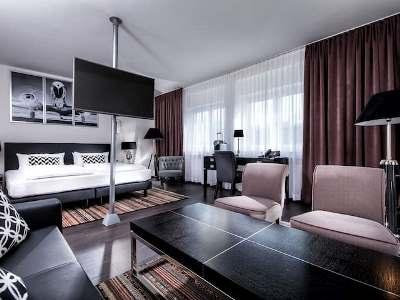 bedroom 3 - hotel wyndham airport messe - stuttgart, germany
