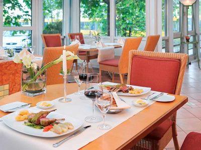 restaurant - hotel pullman stuttgart fontana - stuttgart, germany