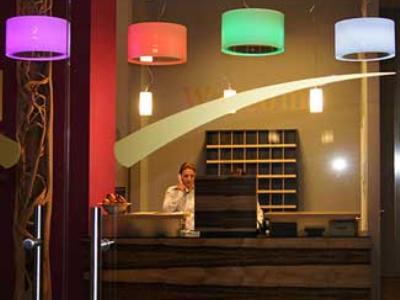 lobby - hotel amh airport-messe in filderstadt - stuttgart, germany
