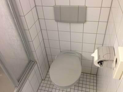 bathroom - hotel mercure hotel stuttgart zuffenhausen - stuttgart, germany