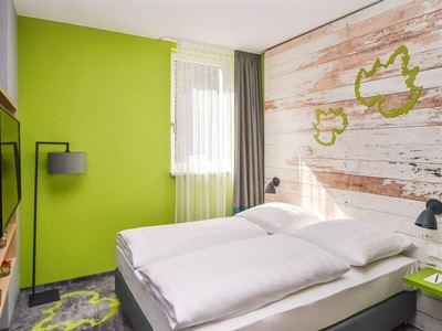 bedroom - hotel ibis styles stuttgart vaihingen - stuttgart, germany