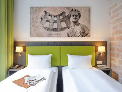 bedroom - hotel ibis styles trier - trier, germany
